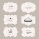 set of vintage labels old fashion. banner illustration vector. - 169935688