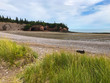 Low tide in Fundy at St. Martins caves, New Brunswick, Canada