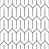 Stylish linear ornament. Seamless vector pattern