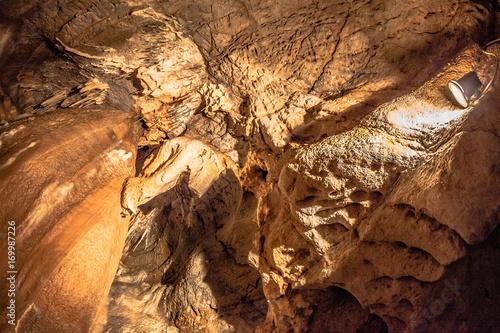 Natural cave Poster