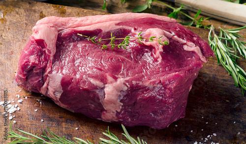 Papiers peints Steakhouse Dry Aged Entrecote Steak