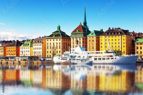 Aluminium Stockholm Old Town in Stockholm, Sweden