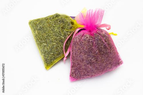 Fotobehang Lavendel sachet de lavande