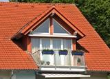 Modernes Dach mit Gaube