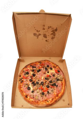 Aluminium Pizzeria pizza capricciosa
