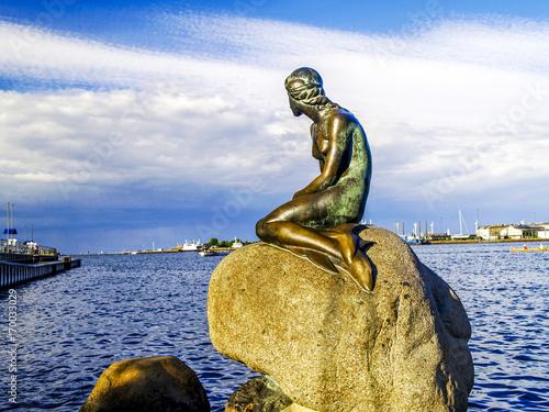 Kopenhagen, Die Kleine Meerjungfrau, Dänemark, Seeland Poster