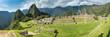 Panorama-Aussicht auf Machu Picchu