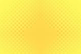 Gradient halftone dots background. Pop art template, texture. Yellow and orange. Vector illustration. - 170041848