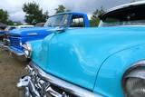 Oldtimer, Oldtimertreffen, Kühlergrill, türkis, 50s, 60s, US car, Rockabilly