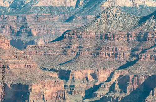 Papiers peints Arizona Grand Canyon Layers of Sedimentary Rock
