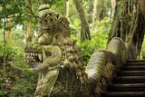 Balinese stone statue - 170048892