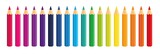 Vector Crayons_colored pencil collection loosely arranged_SET1 - 170078234