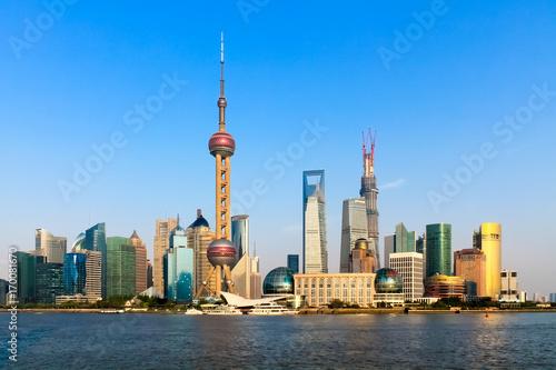 Fotobehang Shanghai Shanghai Skyline