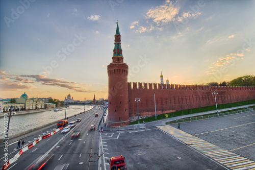 Fotobehang Moskou Kremlin - Red Square in Moscow, Russia