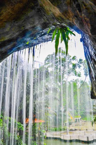 Aluminium Kuala Lumpur Waterfall in Kuala Lumpur Bird Park