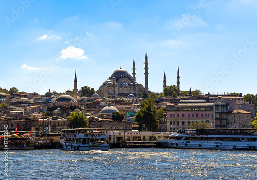 Istanbul Bosphorus Poster