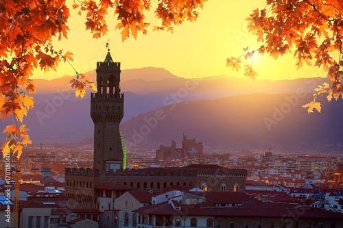 Fotobehang Florence Florence in autumn