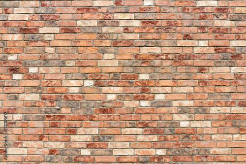 Ceglany mur tekstura brązowy beż