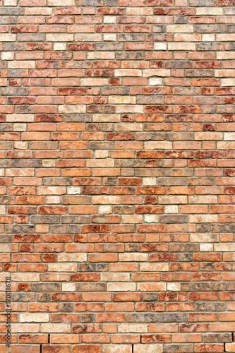 brązowy beżowy tekstura ściana cegieł
