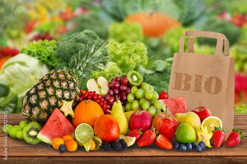 Obst und Gemüse - Bio