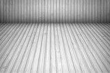 Bamboo Slatted Gray Monochrome Vignetted Background Scenery