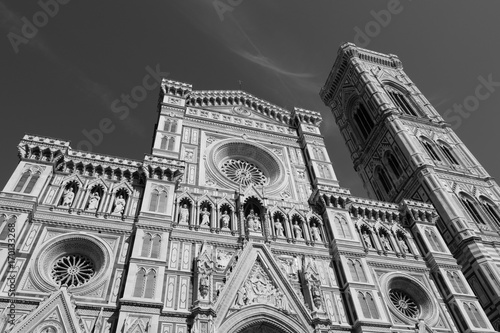 Fotobehang Florence cattedrale di firenze