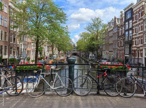 Foto op Plexiglas Amsterdam Scenic views of Amsterdam.