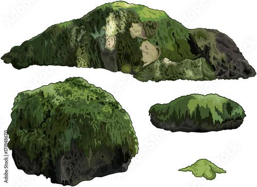 Plexiglas Meisjeskamer Set of Stones