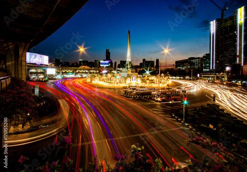 Fotobehang Bangkok victory monument bangkok
