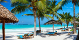 Perfect tropical beach - 170157842