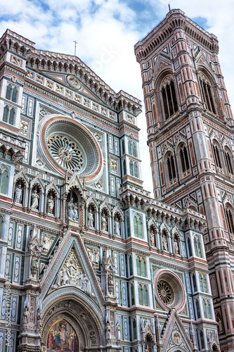 Fotobehang Florence Cathedral Duomo of Santa Maria Del Fiore in Florence, Italy