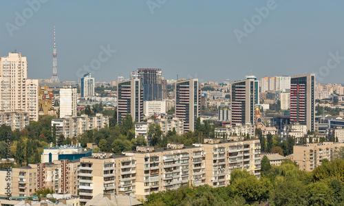 Fotobehang Kiev Kiev Solomenka district cityscape, Ukraine