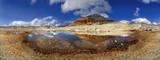 Stevia Gruppe Panorama im Puez-Geisler Nationalpark