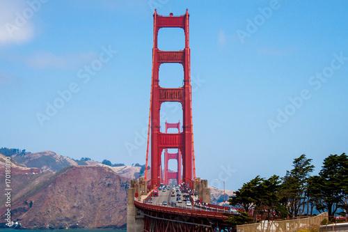 Fotobehang San Francisco Golden gate