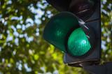 green traffic light - 170183628