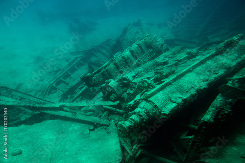 Papiers peints Naufrage 1407833 Shipwreck in Grand Cayman island
