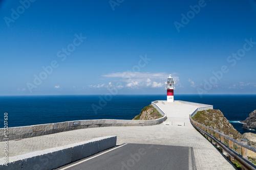 Fotobehang Vuurtoren Ortegal lighthouse