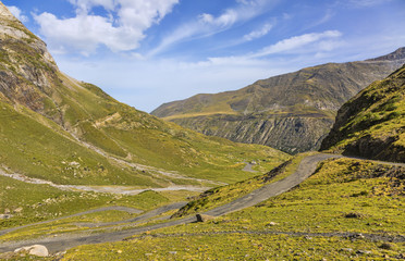 The Road to Circus of Troumouse - Pyrenees Mountains