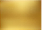 Gold background, gold polished metal, steel texture - 170260833