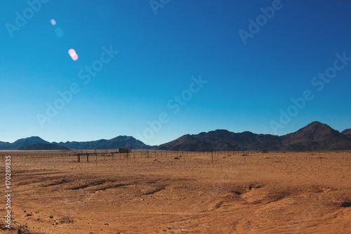 Foto op Canvas Blauwe jeans Namibia desert, Veld, Namib