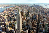 Aerial view of the skyscrapers of Midtown Manhattan New York City - 170291240
