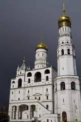 images of the churches in cathedral square inside the kremlin