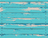Blue Wooden Texture Background