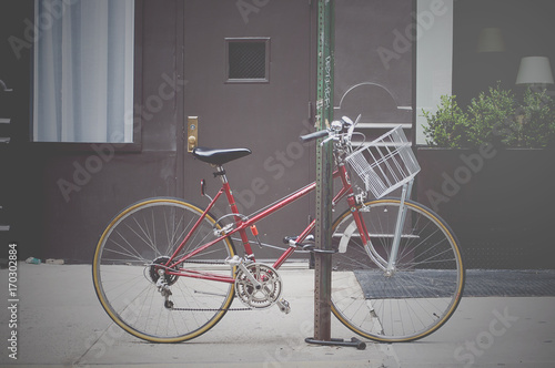 Foto op Plexiglas Fiets Bicicleta de paseo