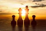 Silhouette  Schach