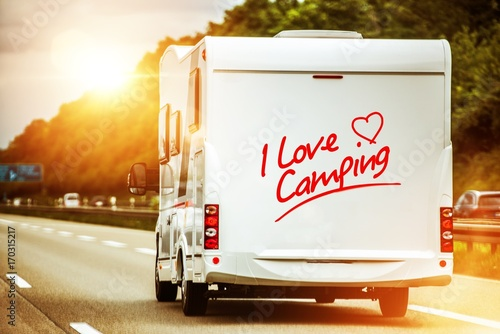 Foto Murales Camping Lover in the Camper