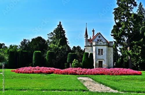 Alte Burg in Lednice Poster