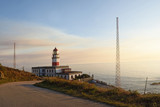 Sunset at Oia (Oya) lighthouse Pontevedra province; Galicia; Spain - 170321464