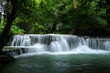 Waterfall in deep forest, Thailand - 170324006