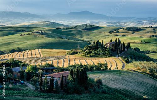 Deurstickers Toscane Beautiful tuscan landscape
